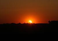20120519 Partial Eclipse at Sunset by Jim and Deb Bonser